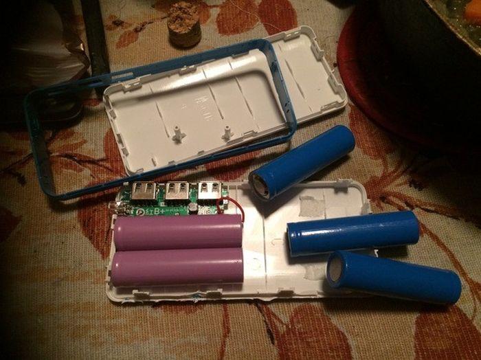 Китайское зарядное устройство (4 фото)