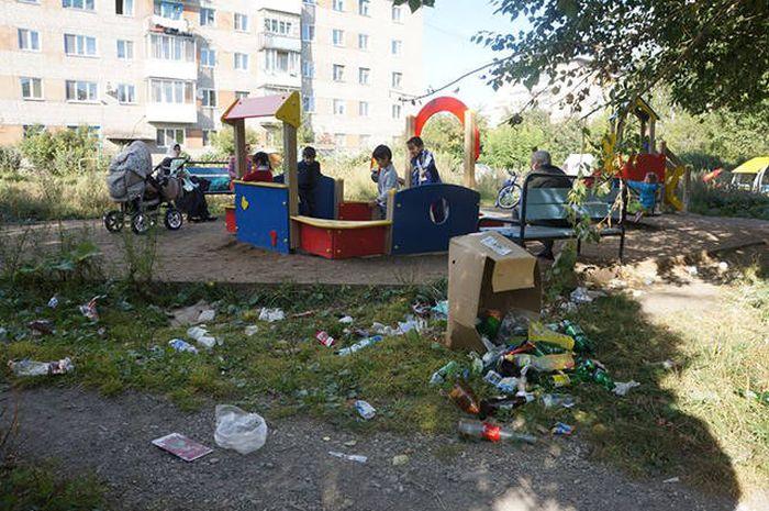 Фото, которые возможно было сделать только в России. Часть 36 (37 фото)