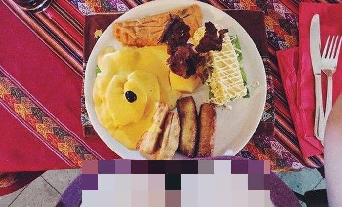 Еда глазами женщин (10 фото)