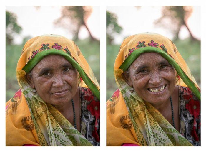 Улыбка меняет человека (25 фото)