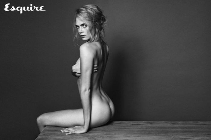 Кара Делевинь, Чаровница из «Отряда самоубийц», обнажилась для журнала Esquire (8 фото)