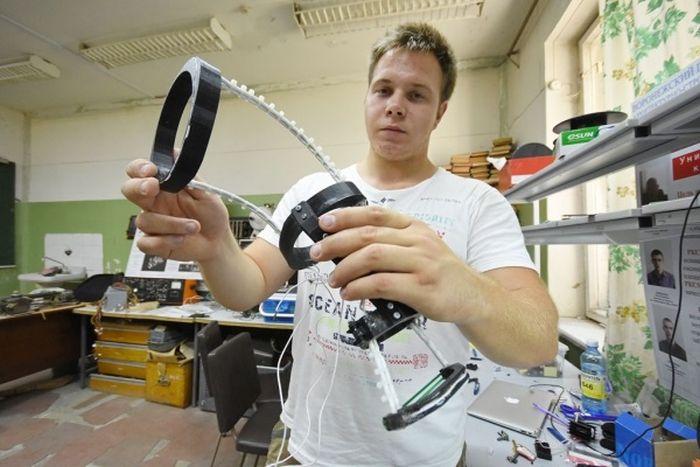 Воронежский изобретатель работает над 3D-печатным экзоскелетом с применением нитинола (8 фото)