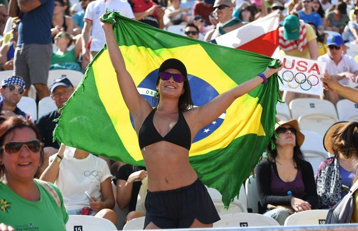 Женский пляжный волейбол на Олимпиаде в Рио (25 фото)