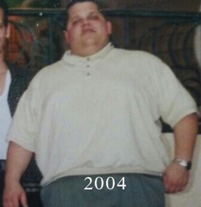 Парень превратился из толстяка в настоящего атлета (5 фото)