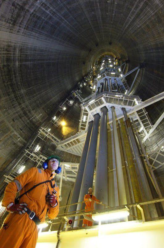 Чудо инженерной мысли - нефтегазовая платформа «Тролль-А» (4 фото)