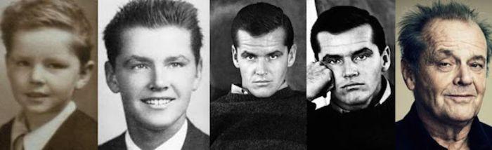Как менялась внешность знаменитых ныне людей со временем