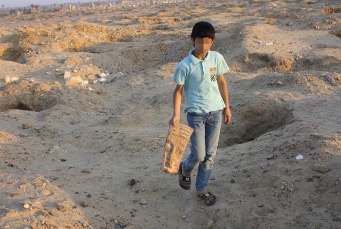 Жизнь юных расхитителей гробниц Египта (10 фото)