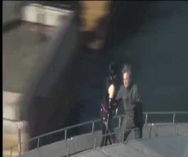 На съемках нового фильма Джеки Чан залез на крышу Сиднейского оперного театра