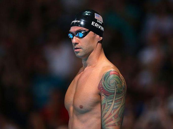 Энтони Эрвин - самый возрастной пловец, завоевавший «золото» Олимпиады в Рио (2 фото)