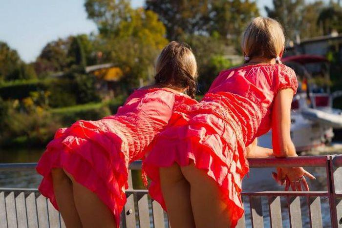 Забавные девушки. Часть 75 (56 фото)
