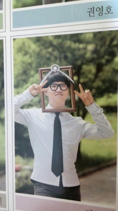 Забавные снимки корейских выпускников (25 фото)