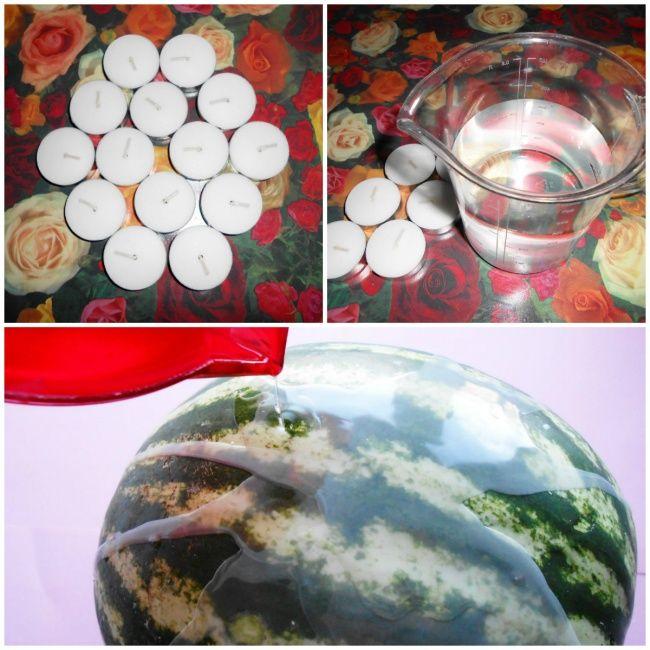 Простой способ консервации арбуза (4 фото)