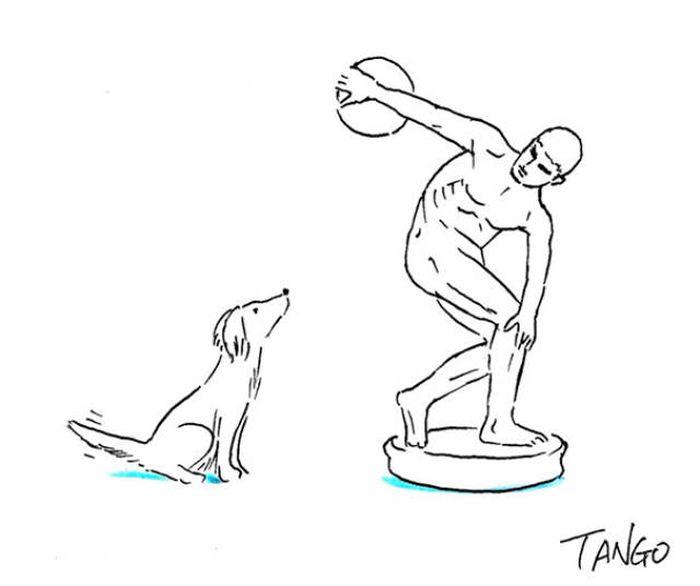 Необычные комиксы от иллюстратора Шанхай Танго (46 картинок)