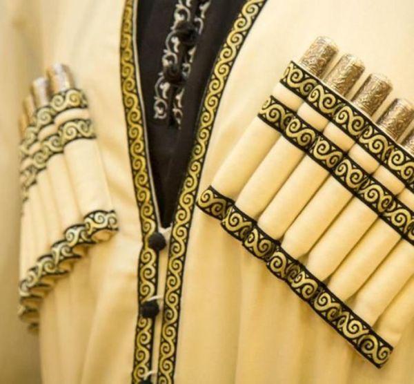 Газыри - важная составляющая кавказского военного наряда (5 фото)