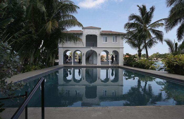 В Майами продается бывшая вилла знаменитого гангстера Аль Капоне (8 фото)