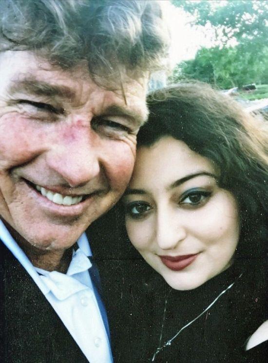 История любви 20-летней девушки и 60-летнего мужчины (7 фото)