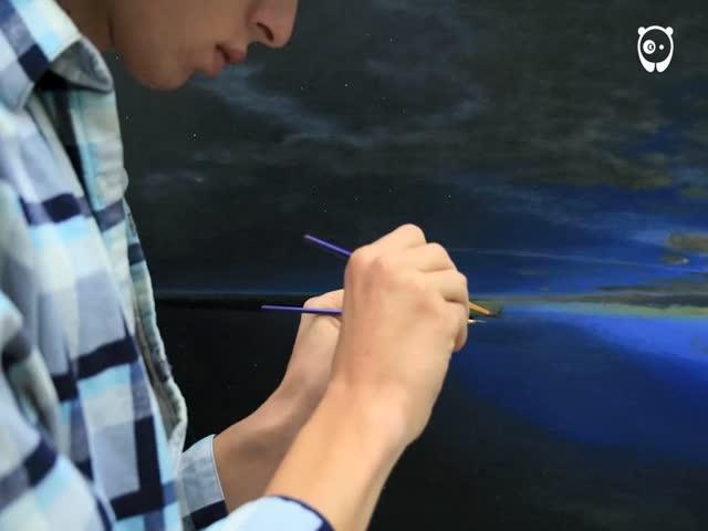 Чарующее видео от датского художника Тийме Термаата