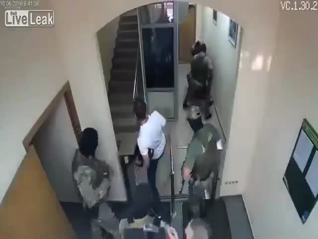 Украинский спецназ «Корд» и турникеты