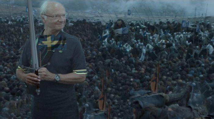 Король Швеции стал героем фотожаб (19 фото)