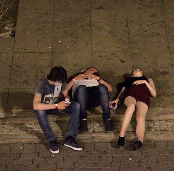 Как отдыхают студенты Бирмингема (25 фото)