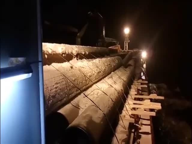 Сухогруз «Васильев» потерял свой груз