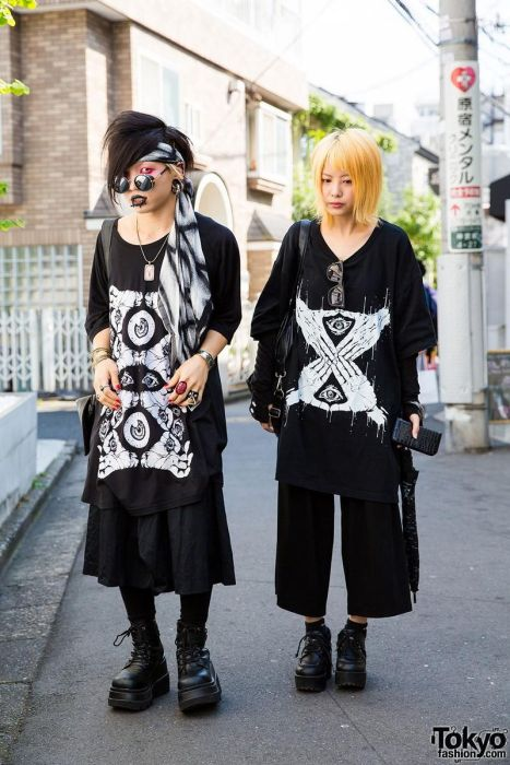 Модники с улиц Токио (30 фото)