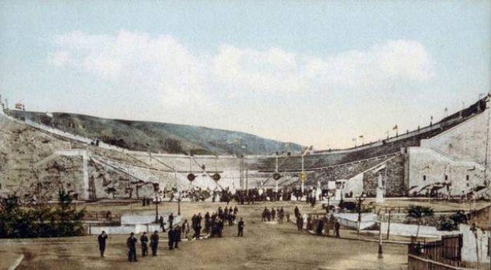 Олимпийские игры тогда и сейчас (22 фото)