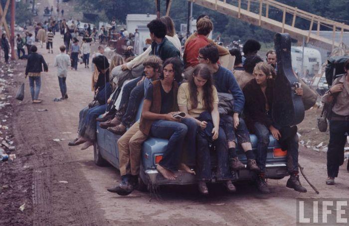 Как проходил первый рок-фестиваль «Вудсток» (43 фото)