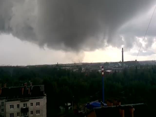 Торнадо в Сыктывкаре