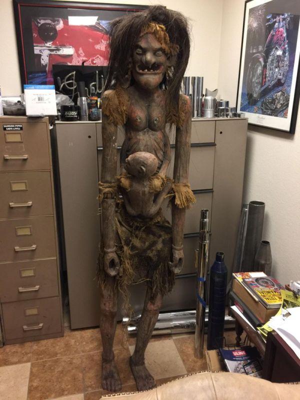 Африканская богиня плодородия, которая помогает забеременеть (3 фото)