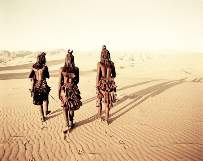 Дикие и полудикие племена в современном мире (49 фото)