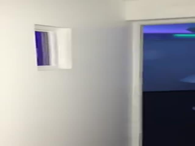 Секретная комната за дверью холодильника