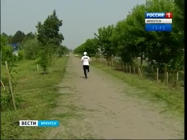 65-летний инвалид из Сибири пробежал 5000 км