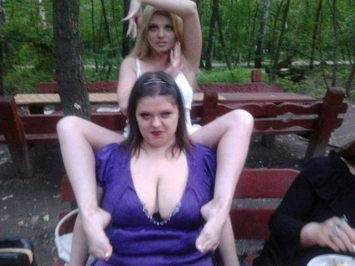 Забавные девушки. Часть 77 (66 фото)