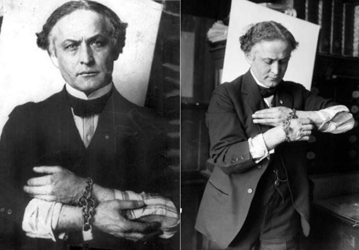 Секреты великого иллюзиониста Гарри Гудини (10 фото)