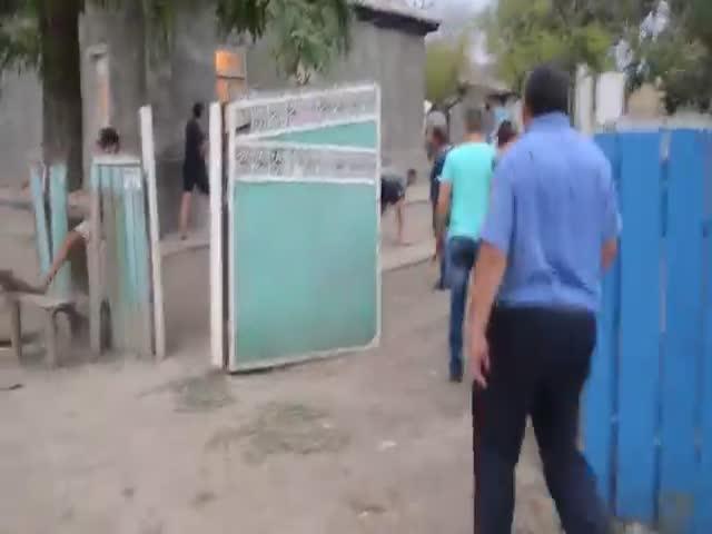 Погромы цыганской общины в Одесской области