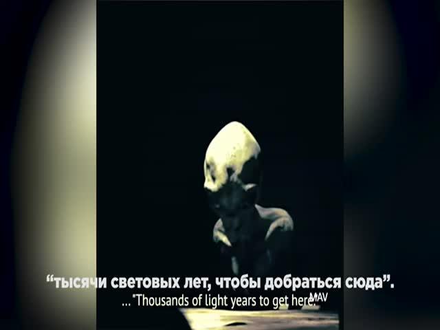 В сети появилось фейковое интервью с пришельцем