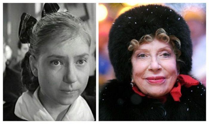 Советские и российские актеры в своих первых ролях и сейчас (15 фото)