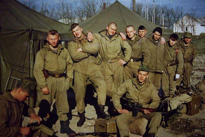 Участники Первой чеченской кампании о войне (14 фото)
