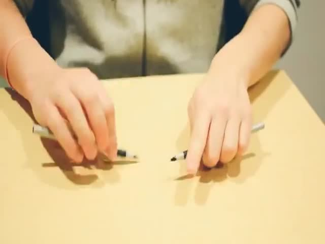 Оказывается, ручки тоже могут быть музыкальным инструментом