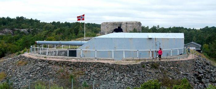 Немецкая береговая оборона в Норвегии (55 фото)