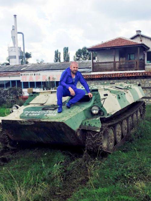 Болгарский рестлер стал охотником за головами и личными врагом ИГИЛ (6 фото + 2 видео)