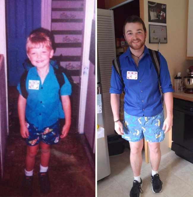 Первый и последний день в школе (25 фото)