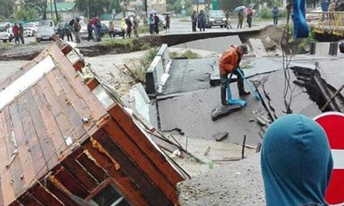 В Приморье ликвидируют последствия тайфуна «Лайонрок» (16 фото)