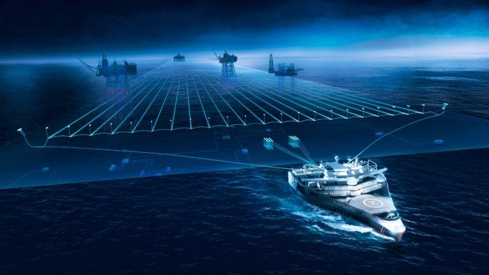 Ramform Titan - самый необычный современный корабль (5 фото)