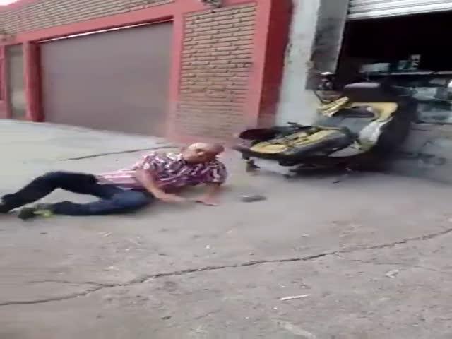 Забавный инцидент с автомобильным креслом