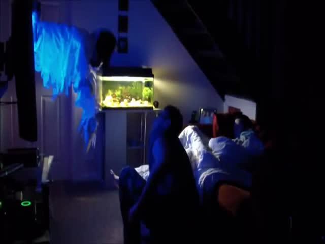 Жесткий розыгрыш спящей девушки