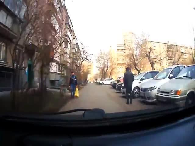 Встреча с автоледи