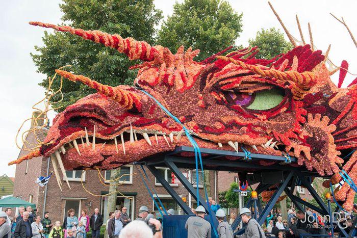 Парад цветов Corso Zundert в Нидерландах (15 фото)
