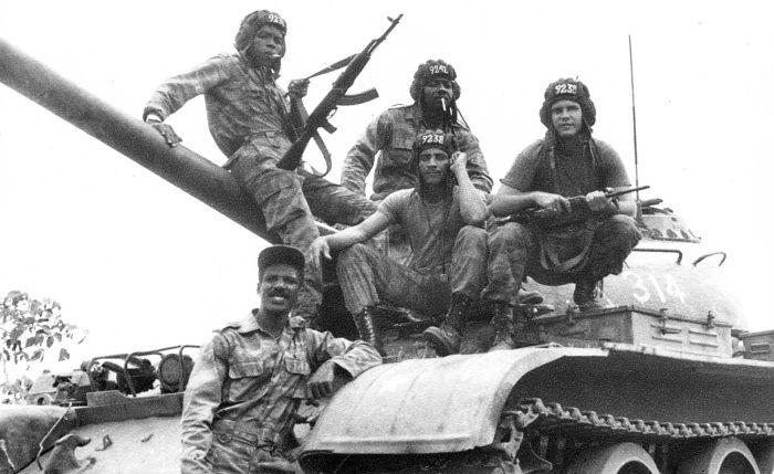 Противостояние СССР и США в Африке (7 фото)